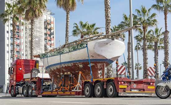 transportes de barcos
